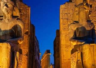 Symbole Egiptu - Nil i Piramidy Egipt, Wyc. objazdowe