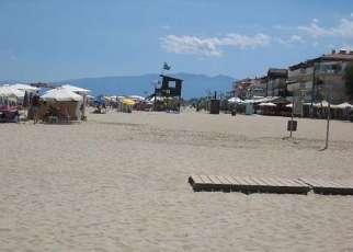 Ouzas Grecja, Riwiera Olimpijska, Olimpic Beach