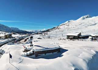 Dolomiti (Passo Tonale) Włochy, Trentino, Passo Tonale