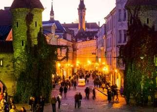 Wilno- Ryga- Talin- Troki - Nadbałtyckie stolice Litwa, Wyc. objazdowe