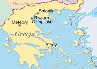 Grecja dla seniora Grecja, Wyc. objazdowe