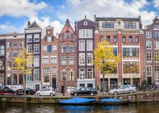 Amsterdam i festiwal tulipanów Holandia, Amsterdam