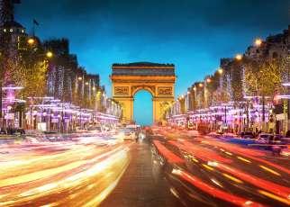 Sylwester - Paryż Francja, Paryż