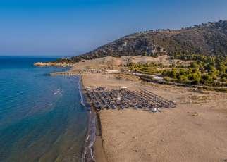 Kalogria Beach Grecja, Peloponez, Kato Achaia
