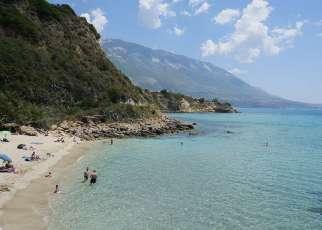 Karavados Beach Grecja, Kefalonia, Karavados