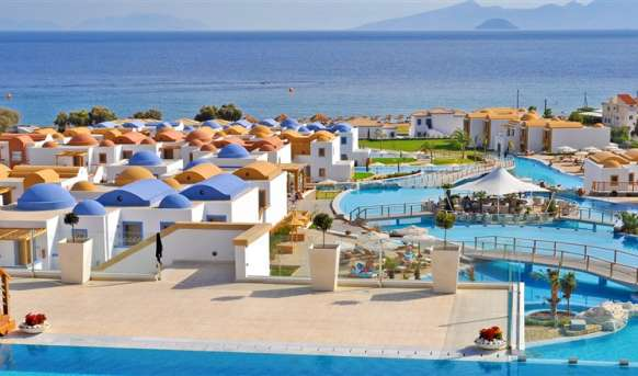 Mitsis Blue Domes Exclusive Resort & Spa - basen