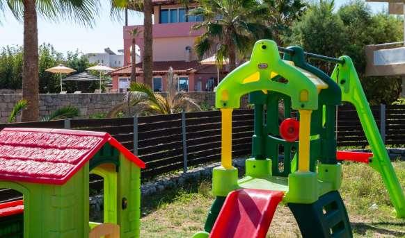 Kavros Beach - Yassou Kriti - atrakcje dla dzieci
