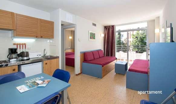 Medplaya esmeraldas aparthotel hiszpania costa brava for Appart hotel mediterranee