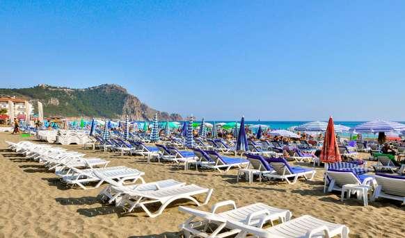 Kleopatra Micador - plaża