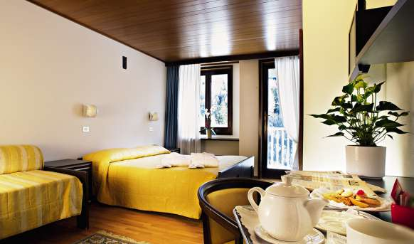 Mirella (Ponte Di Legno) - pokój