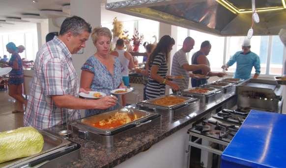 Emir Fosse Beach - restauracja