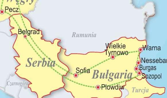 Wzdłuż bułgarskiego wybrzeża - Bułgaria, Serbia, W Bułgaria, Wyc. objazdowe