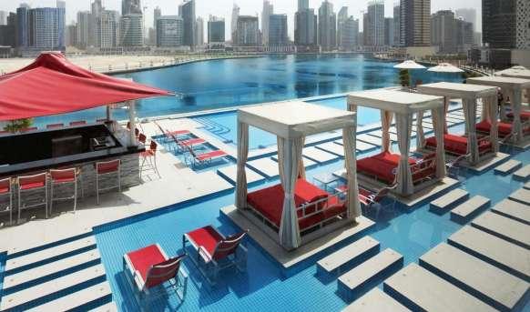 Canal Central Business Bay Emiraty Arabskie, Dubaj