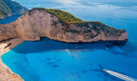 Wyspy Eptanisa - plaża