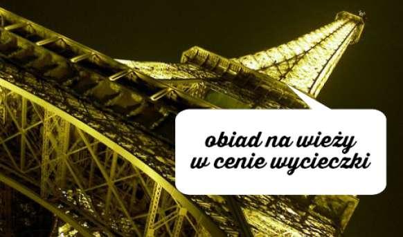 Paryż z wieża Eiffel