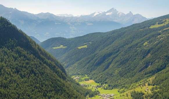 Spacer w chmurach - Alpejskie cuda natury