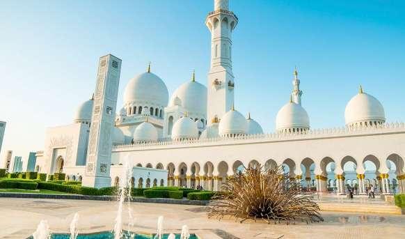 Dubaj i Abu Zabi - orientalny eliksir - basen