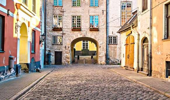 Sztokholm - Ryga - Tallin - Przez Bałtyckie Morze