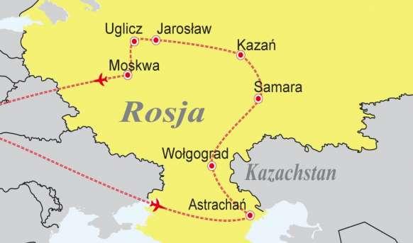Rejs rzeką Wołgą Rejsy, Rzeka - Wołga