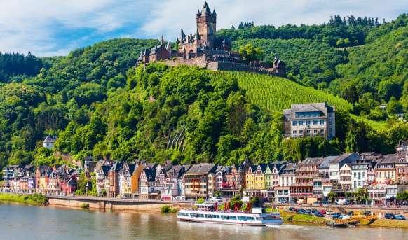 Wzdłóż Renu i Mozeli - Szwajcaria, Francja, Niemcy