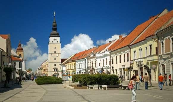 Słowacki Ekspress Słowacja, Wyc. objazdowe