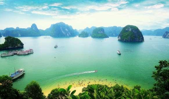 Wietnam Północ - Południe Wietnam, Wyc. objazdowe