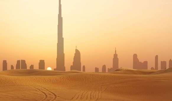 Ekscentryczny Dubaj i oddech pustyni