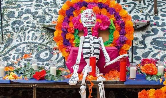 Dia de los Muertos - wakacje z duchami