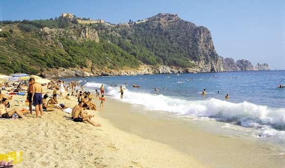 Aslan City (ex. Kleopatra Beste) - plaża