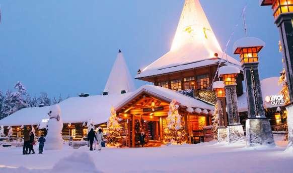 Rovaniemi - z wizytą u Św. Mikołaja Finlandia, Laponia, Rovaniemi