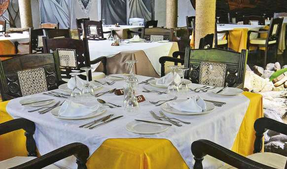 Scorpio Villas - restauracja