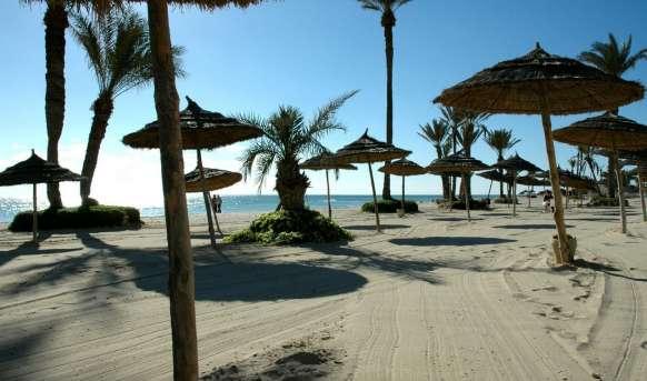 Djerba Castille - plaża