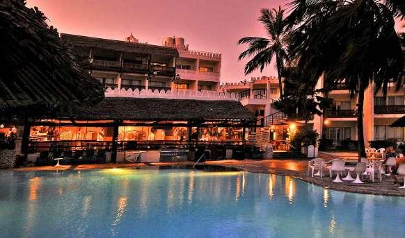 Bamburi Beach - restauracja