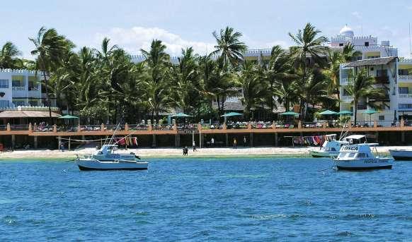 Bamburi Beach - basen