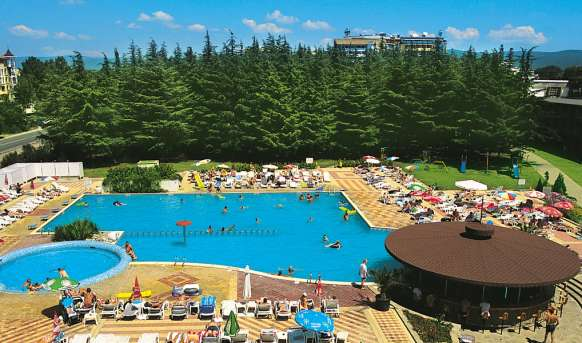 Parkhotel Continental 3 (Sunny Beach) - basen