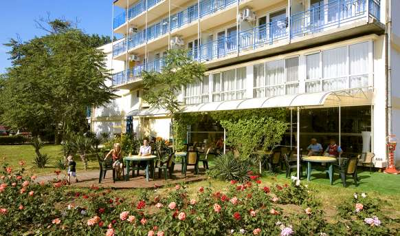 Parkhotel Continental 3 (Sunny Beach) - hotel