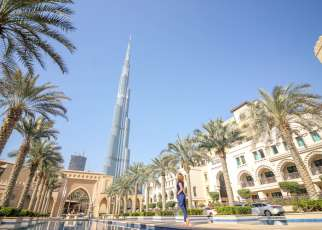 Burj Khalifa Dubaj Emiraty Arabskie