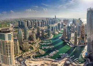 Dubai Marina Emiraty Arabskie