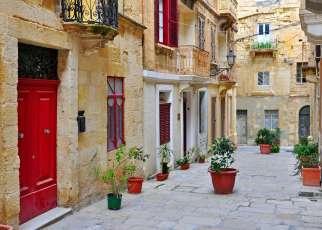 Malta uliczki La Valletta