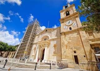 Malta - Konkatedra św. Jana w Valletcie
