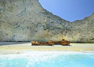 Zakynthos, Zatoka Wraku