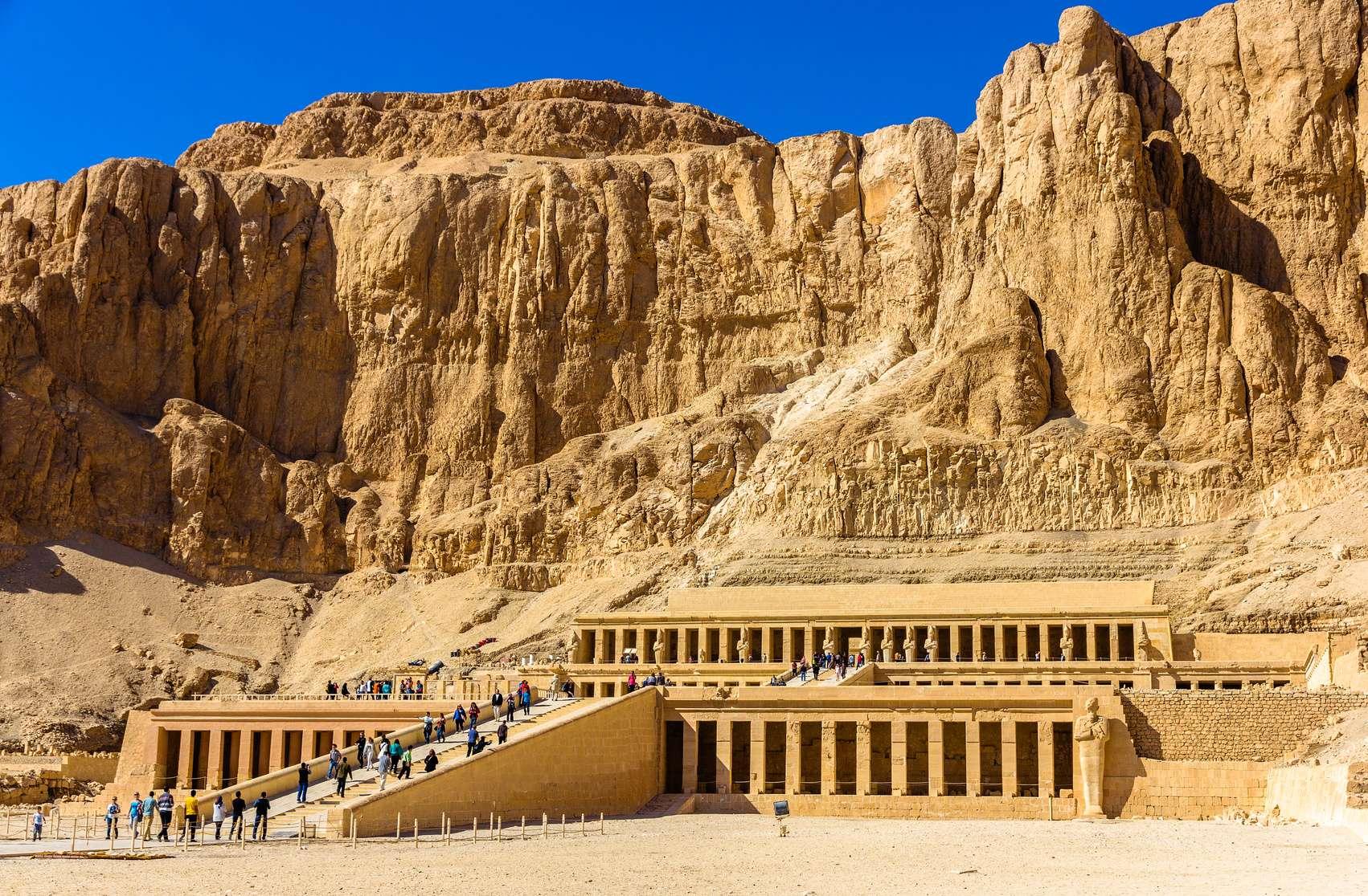 Egipt Świątynia Hatshepsut