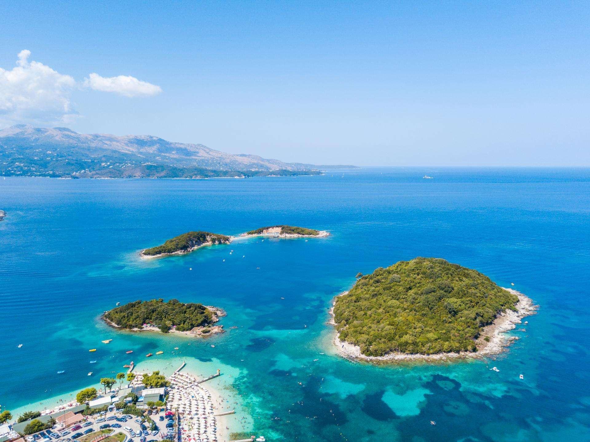 Albańskie Karaiby - Ionian