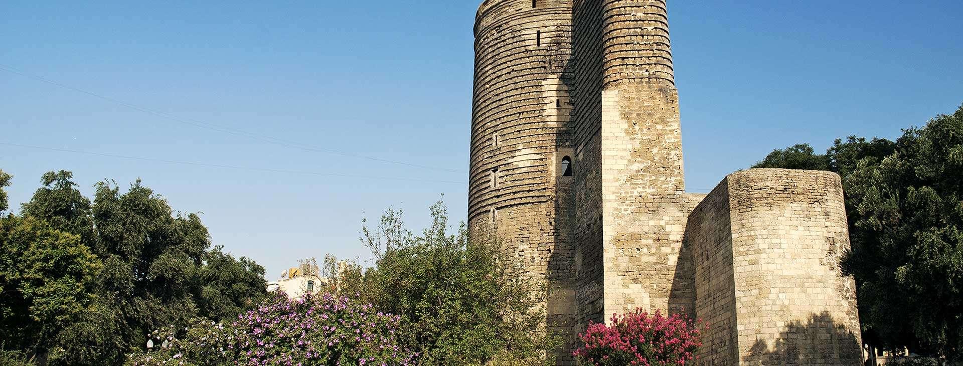 Baku - Mit szklanych domów