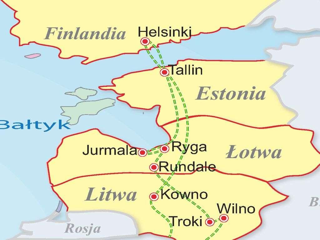 Bałtyckie białe noce - Litwa - Łotwa - Estonia - Finlandia