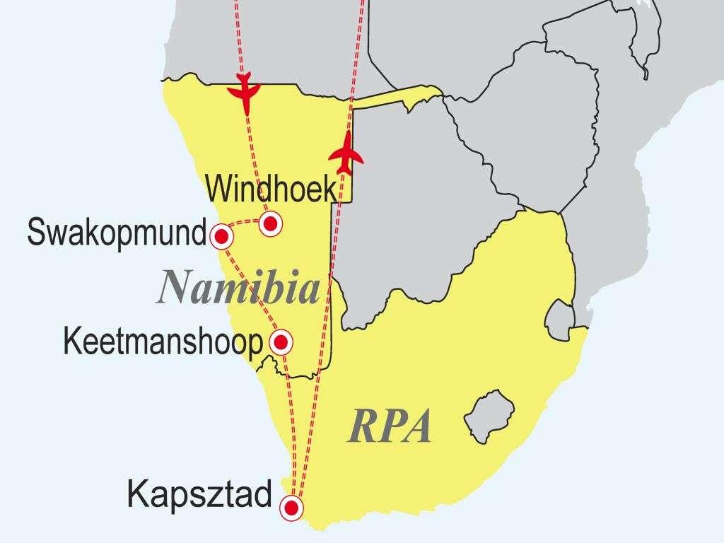 Druga twarz Afryki - Namibia - RPA