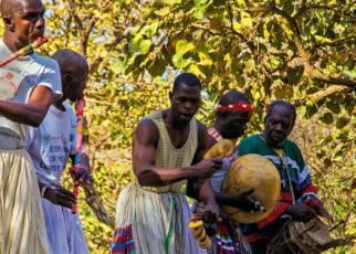 Senegambia - spacer z lwami Gambia, Wyc. objazdowe