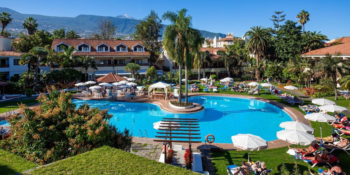 Hotel sol parque san antonio hiszpania teneryfa opis - Sol parque san antonio puerto de la cruz ...