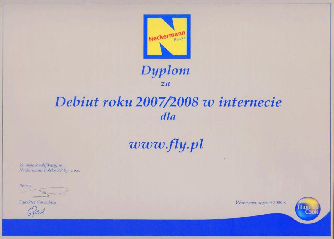 Dyplom Neckermann Polska