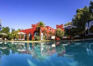 Palais El Miria Maroko, Atlas Wysoki, Ouahat Sidi Brahim